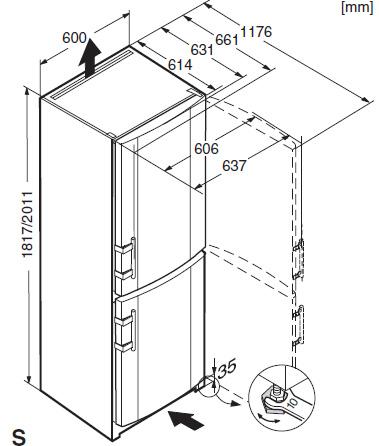 холодильник Liebherr Comfort инструкция по эксплуатации - фото 9