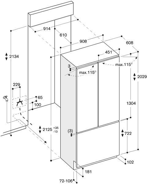 инструкци к холодильнику gaggenau ry 492-301