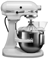 Миксер KitchenAid 5KPM5EWH фото