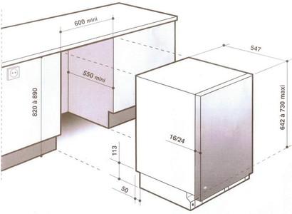 Посудомоечная машина De Dietrich DVH 1180 GJ с удобной доставкой по России.