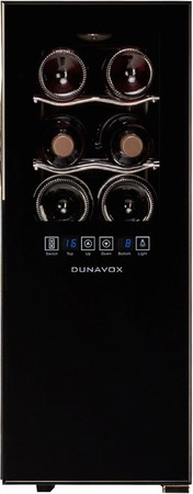 Винный шкаф Dunavox DX-12.33DSC preview 2