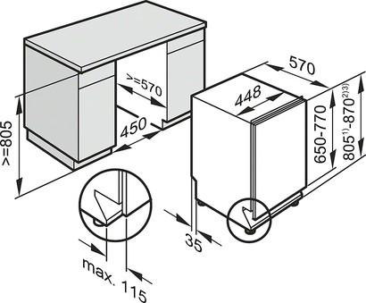 Встраиваемая посудомоечная машина Miele G 5100 Sci.  - Мои фотографии - Варочная поверхность Silverline...